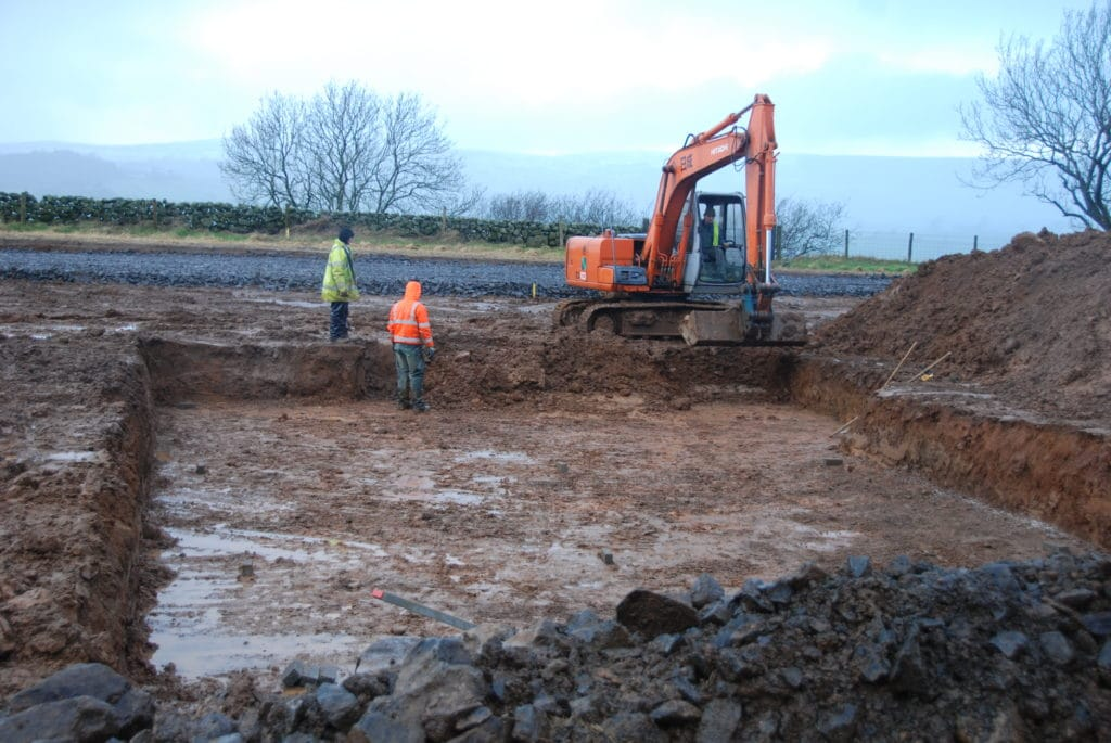 Excavation of for a new Proteus pool
